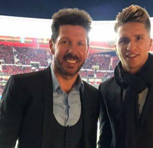 Hijo de Diego Simeone será el reemplazo de Brian Fernández en Unión La Calera