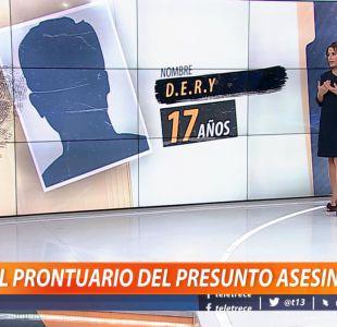 [VIDEO] El prontuario del presunto asesino de Óscar Galindo