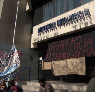[VIDEO] Crisis en U. Iberoamericana: Alumnos aún no pueden partir las clases
