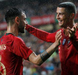 [VIDEO] La bicicleta de Cristiano Ronaldo que terminó en penal en duelo ante España