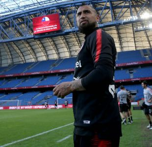 """[VIDEO] Vidal destaca a nuevos valores de La Roja: """"Los 23 pueden estar en Copa América"""""""