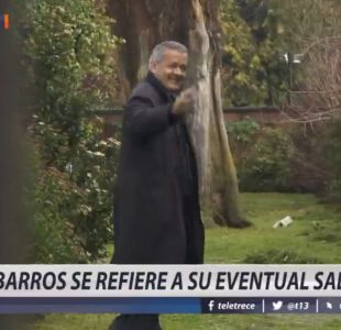 [VIDEO] Obispo Barros se refiere a su eventual salida
