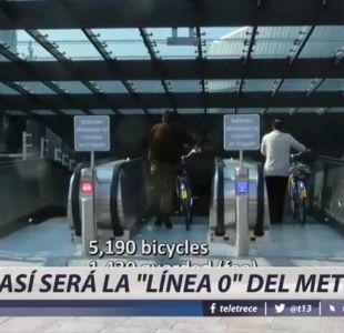 [VIDEO] Así será la línea 0 del Metro de Santiago