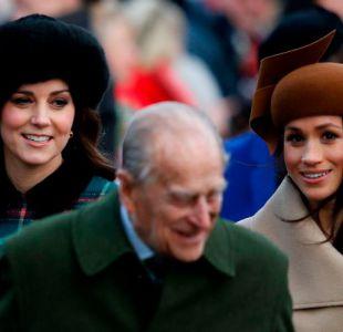 [FOTOS] Meghan Markle y Kate Middleton deslumbraron en desfile en honor a la reina Isabel II