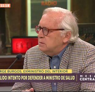 [VIDEO] Jorge Burgos justifica su fallida defensa a Santelices: Me gano la vida como abogado