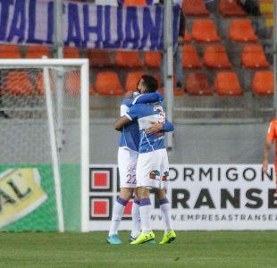 Universidad Católica vence a Cobreloa en su debut por Copa Chile