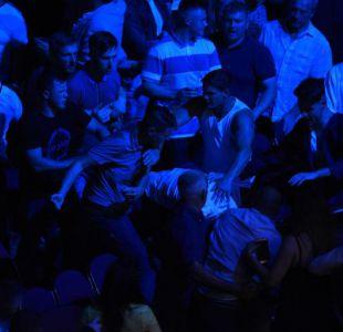 [VIDEO] Boxeo: Público protagoniza brutal pelea en regreso de Tyson Fury