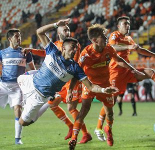 [VIDEO] Goles Copa Chile: U. Católica golpea primero y vence a Cobreloa en Calama