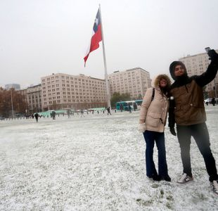 [VIDEO] Experto de AccuWeather anuncia posibilidad de nieve en Santiago