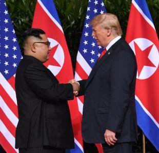 [VIDEO] Donald Trump y Kim Jong-Un dan inicio a histórica cumbre