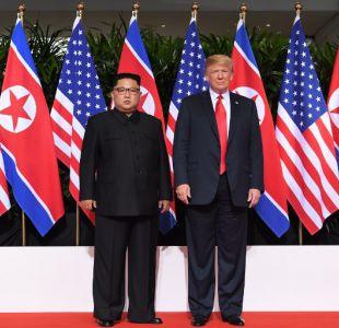 Trump muestra su optimismo sobre Corea del Norte tras revelar carta que le escribió Kim Jong Un