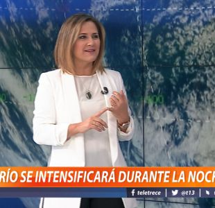[VIDEO] El informe del tiempo con Michelle Adam: Frío se intensificará durante la noche