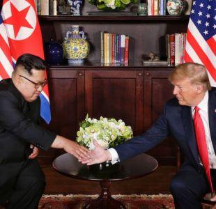 [VIDEO] ¿Quién se mostró dominante? Lo que dice el lenguaje corporal entre Trump y Kim Jong-un