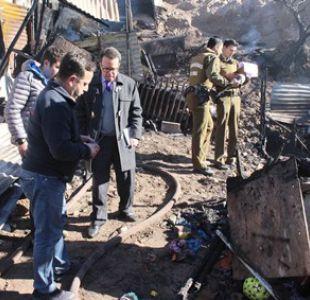 El hecho ocurrió durante la mañana de este jueves, donde se quemaron dos viviendas.