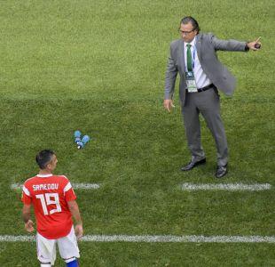 Juan Antonio Pizzi se sumó a un negativo registro de la Copa del Mundo