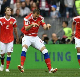 Rubia le ganó a Arabia Saudita 5 goles contra 0