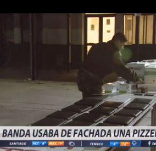 [VIDEO] Cae banda que utilizaba una pizzería como fachada para delinquir