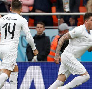 """A la uruguaya: La """"Celeste"""" vence en la agonía a Egipto en el debut en Rusia 2018"""