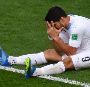 [FOTOS] Los momentos del nefasto partido de Suárez contra Egipto durante su debut en el Mundial
