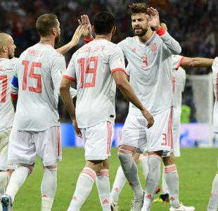 [VIDEO] Piqué satisfecho tras empate ante Portugal y Diego Costa respalda a De Gea