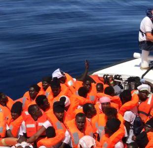 [VIDEO] Aquarius: Valencia dividida por barco de migrantes