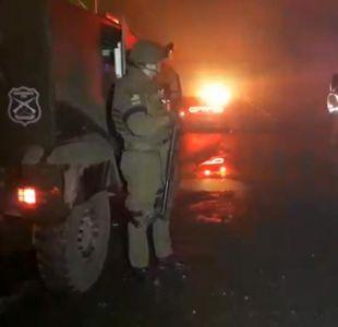 Nuevo ataque incendiario deja dos maquinas destruidas en la región de La Araucanía