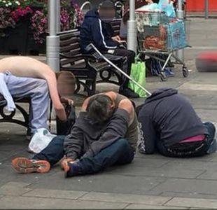 La impactante foto de los efectos de las drogas que alarma a Reino Unido