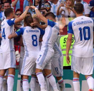 Fuerza colectiva: Partido debut de Islandia en el Mundial contra Argentina dejó un dato histórico