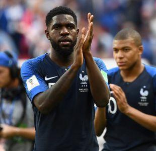 Defensor francés se rió de su error en el Mundial de Rusia con llamativo meme