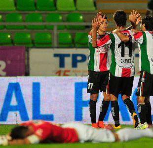 Palestino derrota a Santiago Wanderers y avanza de ronda en Copa Chile