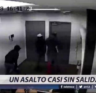 [VIDEO] Un asalto casi sin salida