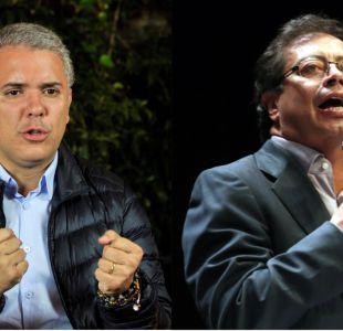 Iván Duque vs. Gustavo Petro: la derecha y la izquierda se enfrentan en las elecciones de Colombia