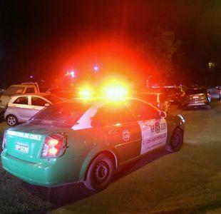 Conductor detenido tras intentar atropellar a carabinero en Recoleta