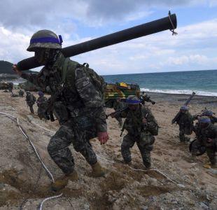 Corea del Sur inicia ejercicios militares para defenderse ante posible ataque japonés