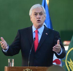 Piñera a jueces: seguiremos haciendo rondas policiales masivas aunque saturemos los tribunales