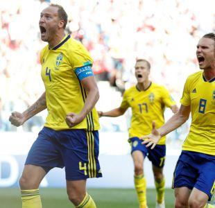 Suecia vence a Corea del Sur y complica a Alemania en el Grupo F de Rusia 2018