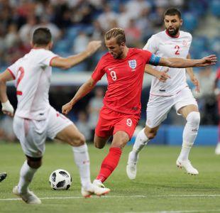 [Minuto a Minuto] Inglaterra vence en la agonía a Túnez con doblete de Harry Kane