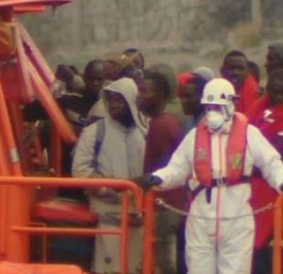 [VIDEO] Migrantes rescatados de barco Aquarius cuentan su travesía