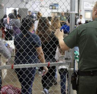 Cómo son las jaulas donde Estados Unidos pone a los niños inmigrantes que llegan a Texas