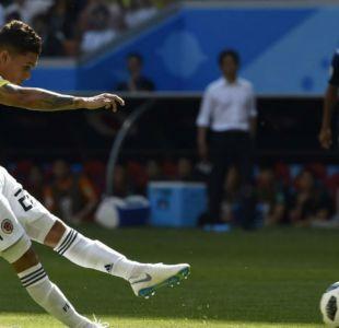 [VIDEO] Gol cafetero: El tiro libre que le dio la igualdad a Colombia frente a Japón