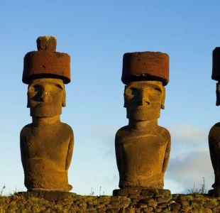 Resuelven el misterio de cómo se colocaron los sombreros en las estatuas de la Isla de Pascua
