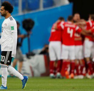 Rusia da un paso enorme hacia la clasificación al vencer a Egipto que se hunde