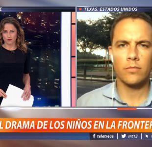 [VIDEO] Periodista relata el drama de los niños en la frontera de EE.UU