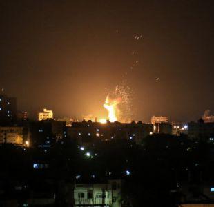 Israel golpea 25 objetivos en Gaza en respuesta por disparo de cohetes