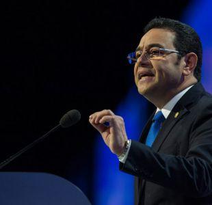 Gobierno de Guatemala rechaza acusaciones de abuso sexual en contra el presidente Jimmy Morales