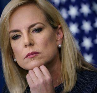 [VIDEO] Secretaria de Seguridad Nacional de EEUU es expulsada de restaurant mexicano