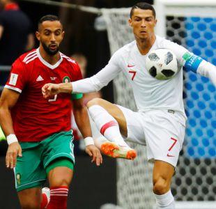 [Minuto a Minuto] Con gol de Cristiano Portugal está venciendo a Marruecos por el Grupo B