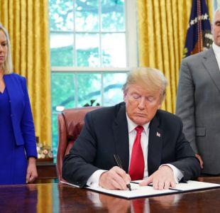 Trump firma decreto para poner fin a la separación de familias migrantes