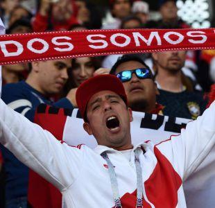 La apasionada hinchada de Perú que vistió de blanquirrojo el Mundial y se ganó elogios de la BBC
