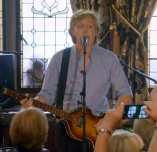 "Paul McCartney su participación en ""Carpool karaoke"""